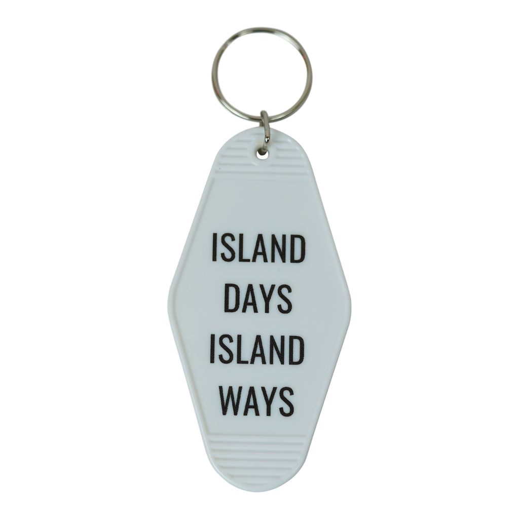 Keychain - Island Days Island Ways