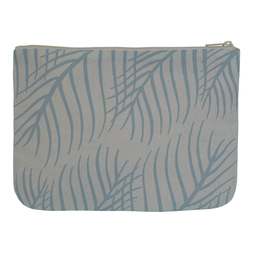 Palm Leaves - Large Clutch - Moonrise
