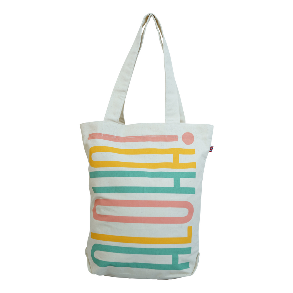 Vertical Stacked - Bucket Bag - Breeze