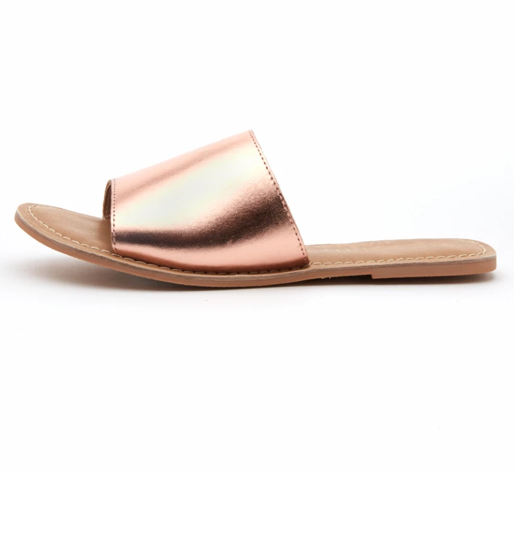 Matisse Footwear - Cabana Sandals - Rose Gold