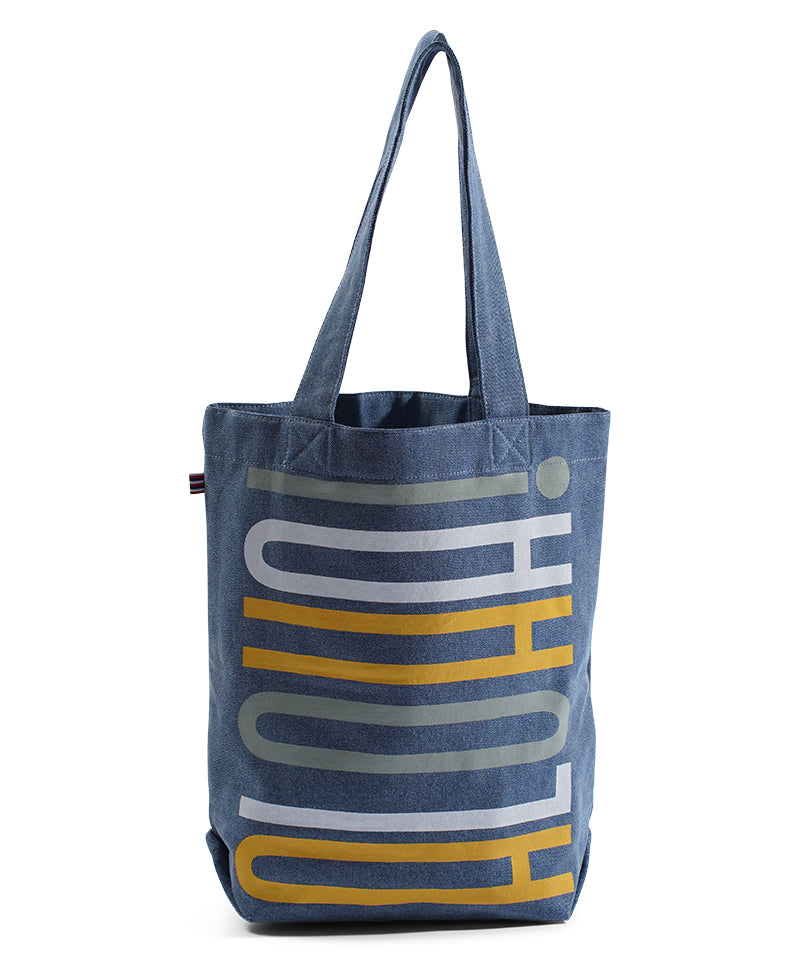 STACKED -Bucket Bag - Light Wash Denim