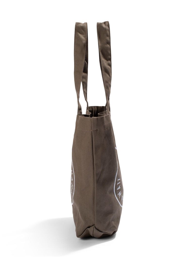 "Bucket Bag ""Stamped"" - Army Canvas"