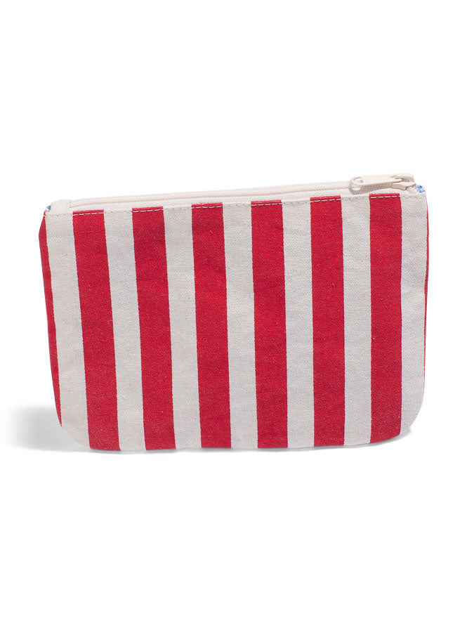 Take Me to Paradise - Small Clutch- Cherry