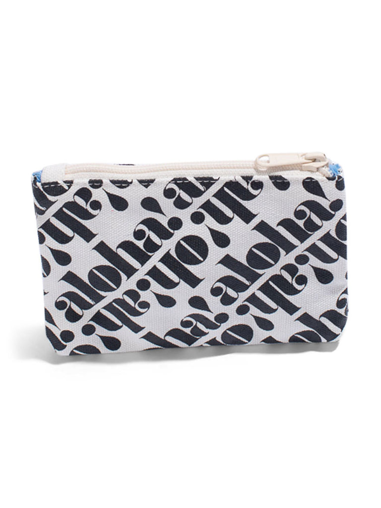 Oh! Ah! Aloha! - Coin Purse - Black