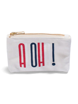 Stacked - Coin Purse- Cherry