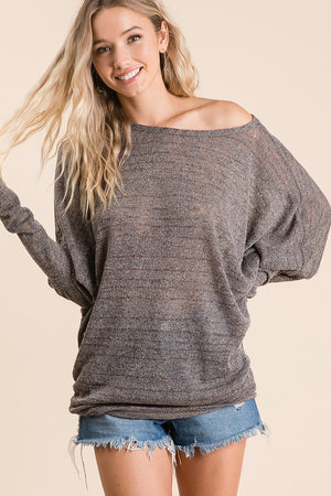 A Hint of Glitz Sweater