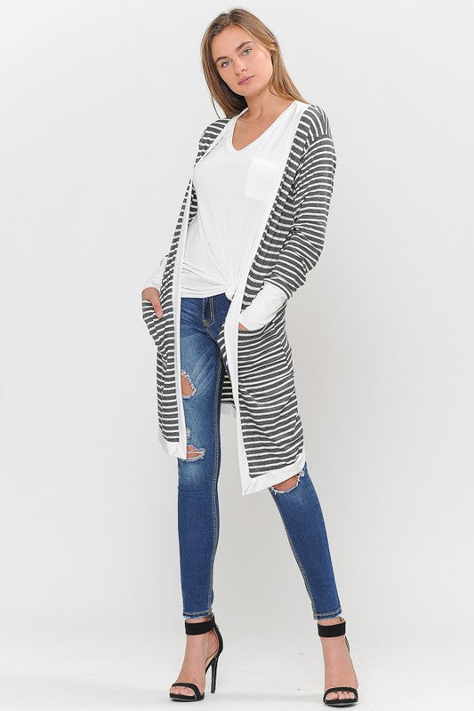 All The Stripes Cardigan