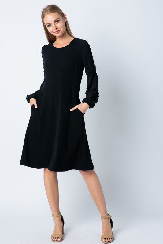 Little Black Dress with Pockets!