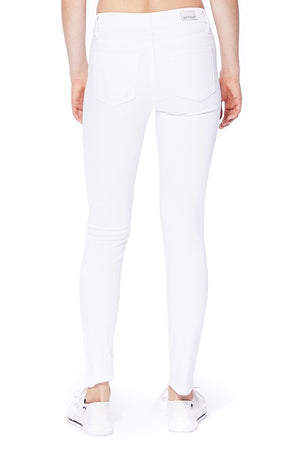 Judy Blue White Classic Skinny Jeans