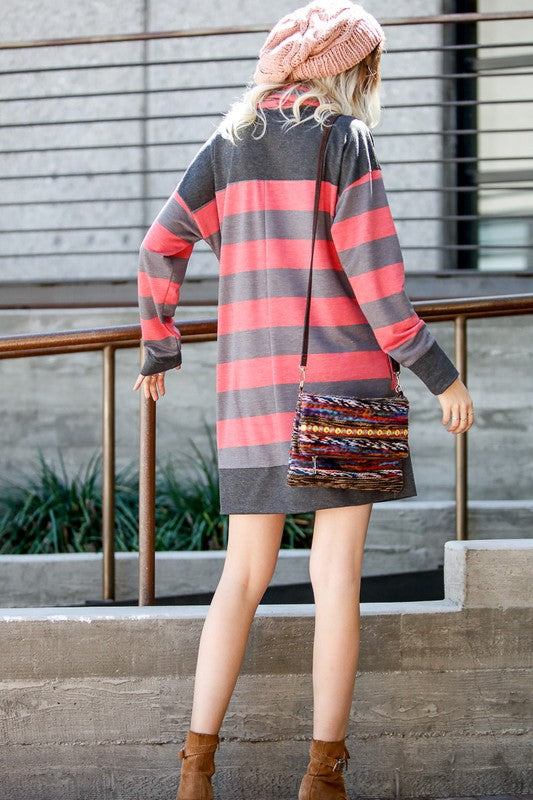 Cherry Stripe Tunic WITH POCKETS!!!
