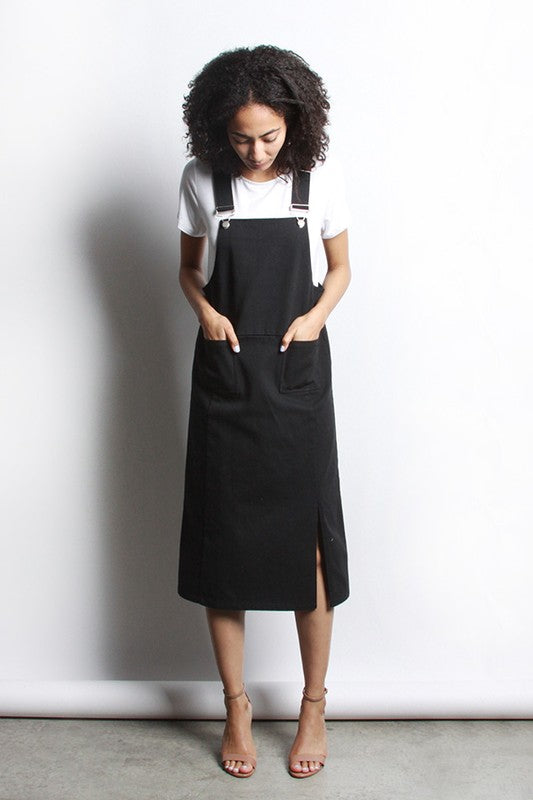 Skirty Flirty Overalls WITH POCKETS!!!