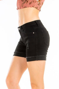 Black Kan Can Shorts