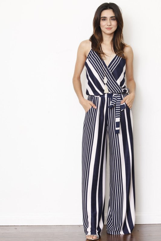 Between The Lines Jumpsuit