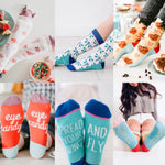 Life Is Sweet Crew Socks