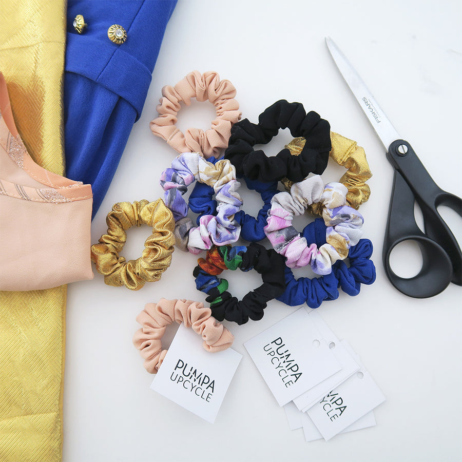 Hiusdonitsit 3 kpl – Scrunchies 3 pieces