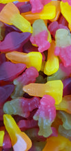 Load image into Gallery viewer, Mixed fruit flavour vegan Space Mix pick & mix sweets. 400g or 750g bag.