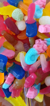 Load image into Gallery viewer, 750g Fizz Free non-fizzy, non-sour, vegan pick and mix sweets bag.
