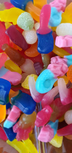 750g Fizz Free non-fizzy, non-sour, vegan pick and mix sweets bag.