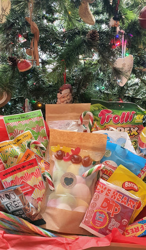 Vegan sweets Christmas family sized hamper