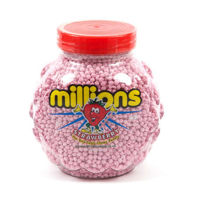 Strawberry Millions vegan & vegetarian strawberry flavour sweets