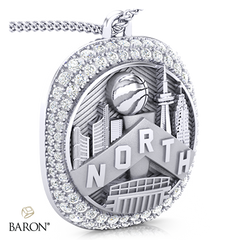 Championship Fan Ring Top Pendant