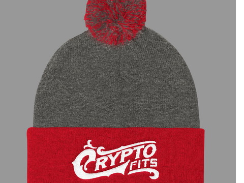 Crypto Fits Brand knit cap
