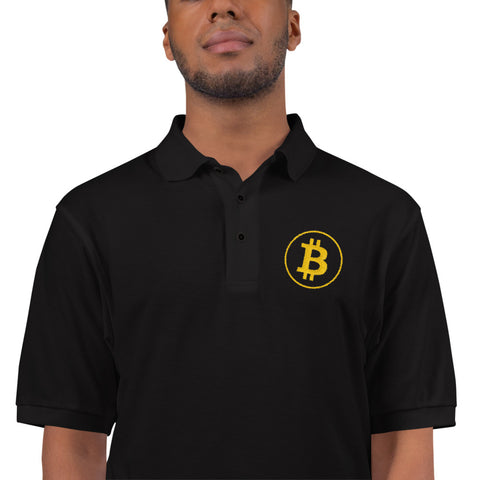 Embroidered Bitcoin Poio Shirt