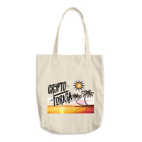 Crypto Cotton Tote Bag - Crypto Fits