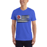 Red, White, and Blue Bitcoin T-shirt - Crypto Fits