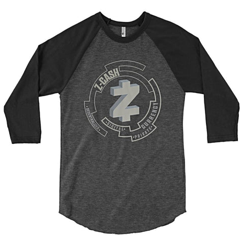 Z-Cash Men's 3/4 sleeve raglan shirt