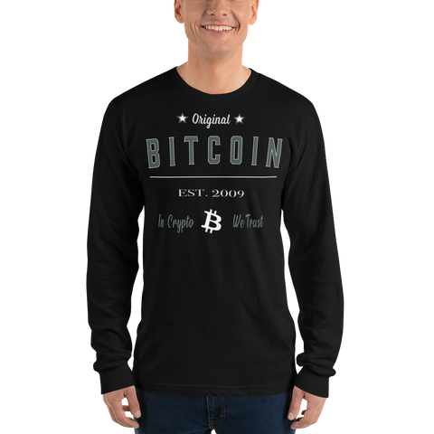 Original Bitcoin Long sleeve t-shirt