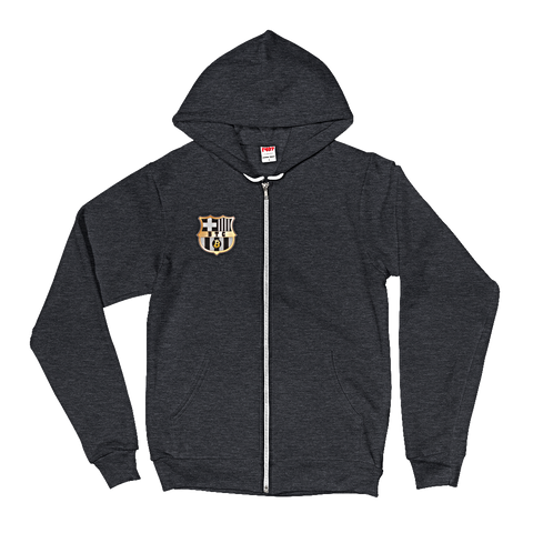 FC Bitcoin Zip Hoodie (Front only)