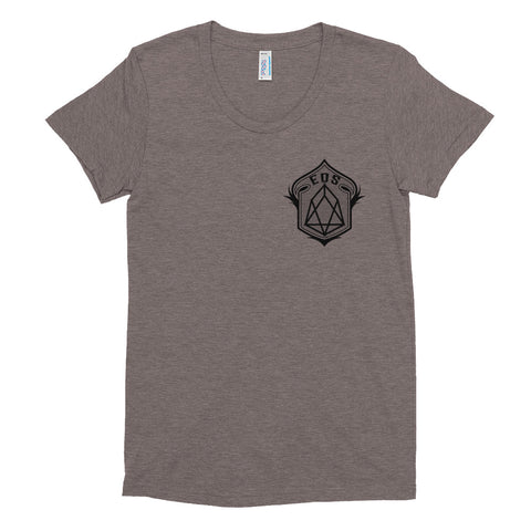 EOS Women's Crew Neck T-shirt - Crypto Fits