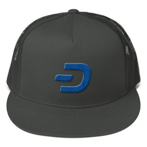 Dash Digital Mesh Back Snapback - Crypto Fits
