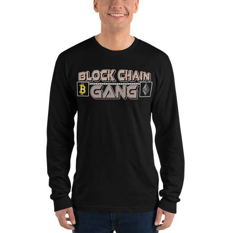 BlockChain Gang4 Long Sleeve
