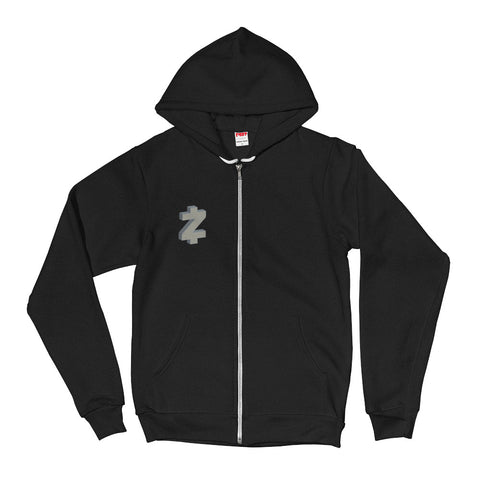 Z-Cash Front and Back Men's Zip Hoodie