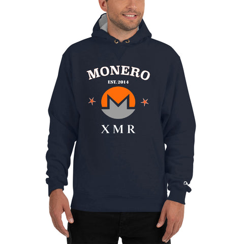 Monero XMR Men's Thick Hoodie - Crypto Fits