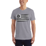 BTC Flag T-Shirt - Crypto Fits