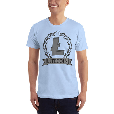 LiteCoin LTC Men's T=shirt - Crypto Fits