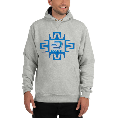 Dash Digital Men's Thick Hoodie - Crypto Fits