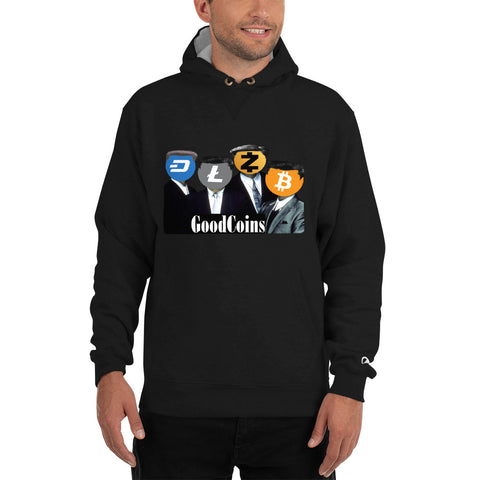 Crypto GoodFellas Men's Thick Hoodie - Crypto Fits