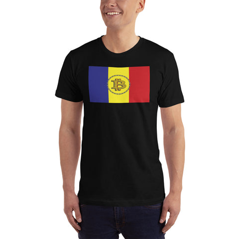 Romania Bitcoin T-Shirt