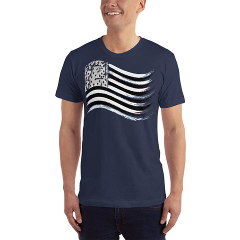 Litecoin Flag Men's T-Shirt