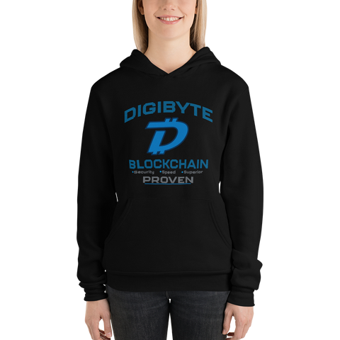 Digibyte DGB Women's Hoodie - Crypto Fits