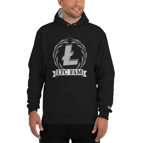 LiteCoin Fam Men's Thick Hoodie - Crypto Fits