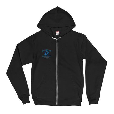 Digibyte DGB Women's Zip Hoodie - Crypto Fits