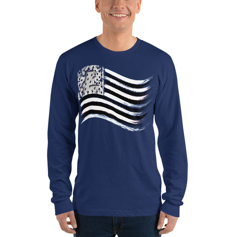 LiteCoin Flag Long sleeve tee