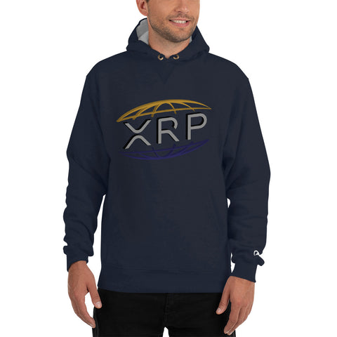 XRP Ripple Men's Champion Hoodie