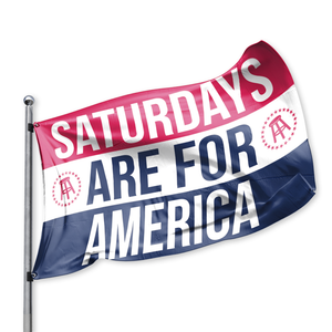 Limited Edition - Saturdays Are for America Flag