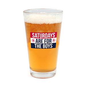 Pint Glass - SAFTB Flag